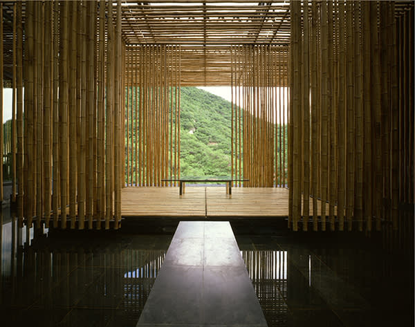 Kengo Kuma's Great (Bamboo) Wall