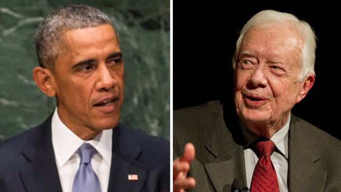 Obama and Jimmy Carter