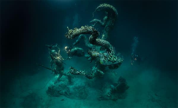 'Hydra and Kali'