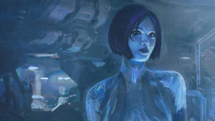 Cortana, a character in the Halo computer game