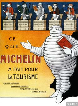 A Michelin advert from 1912