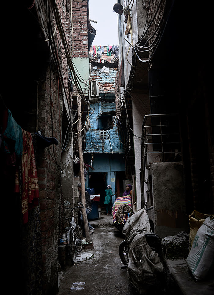 Seemapuri slum, New Delhi, August 2017.
