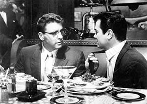 Tony Curtis and Burt Lancaster in 'Sweet Smell of Success' (1957)