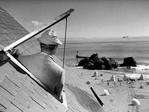 Jacques Tati's film 'Les Vacances de Monsiuer Hulot'