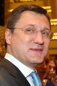 Russian Energy Minister Russian Energy Minister Alexander Novak (C) arrives for the organization of Petroleum Exporting Countries (OPEC) meeting, in the Qatari capital Doha, on April 17, 2016. Top energy officials from some 15 countries including Saudi Arabia and Russia are at the Doha talks, amid reports a draft agreement was in the works to freeze output at January levels until at least October. / AFP PHOTO / KARIM JAAFARKARIM JAAFAR/AFP/Getty Images