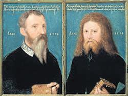 'Gerlach Flicke; Henry Strangwish' (1554) by Gerlach Flicke