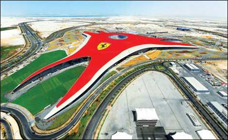 The World S Fastest Rollercoaster In Abu Dhabi S Ferrari World Financial Times