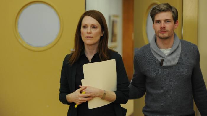 Julianne Moore and Hunter Parrish in 'Still Alice'