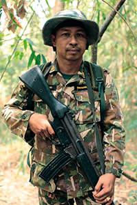 Ranger team leader Vichaichin Sakorn