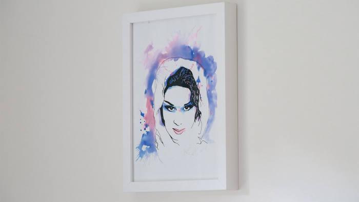Portrait of April Ashley