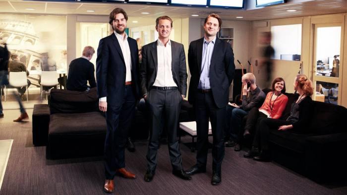 Victor Jacobsson, Niklas Adalberth, Sebastian Siemiatkowski