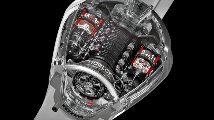 Deconstructed Watch: Hublot MP-05 La Ferrari Sapphire