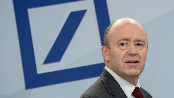 Deutsche Bank loss of 6.7 billion euro ...epa05115121 (FILE) A file photograph showing John Cryan, chief executive of Deutschen Bank, during a press conference in Frankfurt am Main, Germany 29 October 2015. Deutsche Bank in an ad-hoc statement on 20 January 2016 announced that it is expecting a heavy loss of 6.7 billion euro in after-tax earnings for the year 2015. EPA/BORIS ROESSLER Roessler