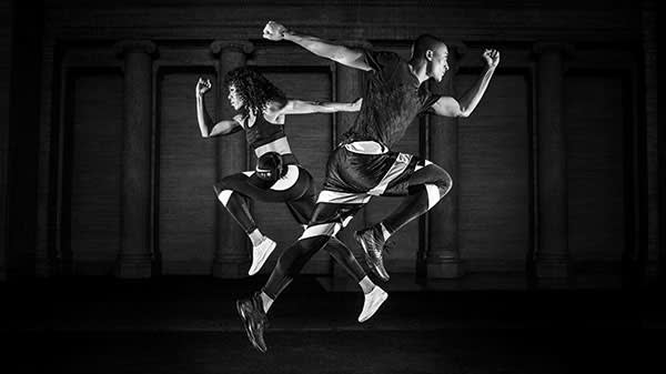 'NikeLab x RT: Training Redefined' campaign image