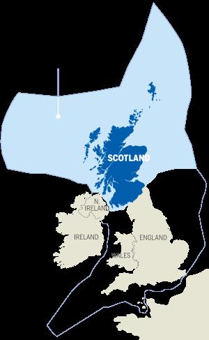 Scotland North Sea oil and gas