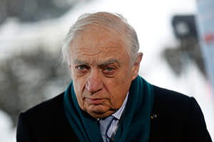 Peter Sutherland, non-executive chairman of Goldman Sachs International and unpaid consultant to the Vatican's treasury