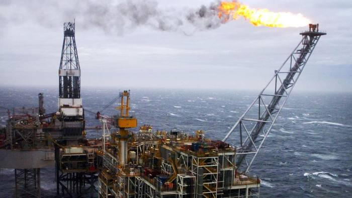 File photo dated 16/03/07 of an oil rig in the North Sea, as North Sea oil and gas production has increased more than 10% in a year, according to a new report. PRESS ASSOCIATION Photo. Issue date: Tuesday September 27, 2016. Oil & Gas UK's Economic Report 2016 found improved competitiveness in the industry as the cost of extracting a barrel of oil or gas from the UK Continental Shelf (UKCS) has nearly halved. See PA story INDUSTRY Oil. Photo credit should read: Danny Lawson/PA Wire