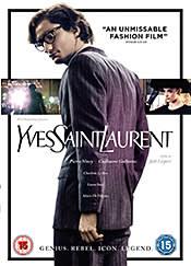 Yves Saint Laurent – DVD cover