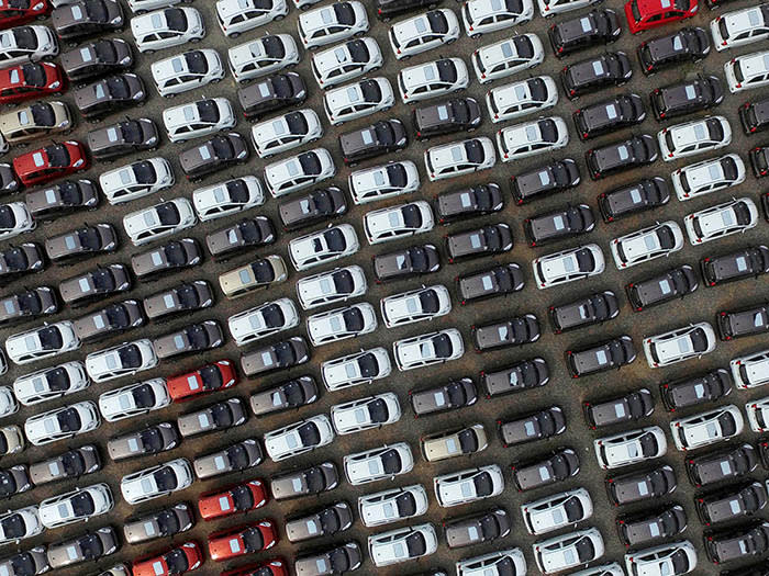 Electric cars are seen at a parking lot of an automobile factory in Xingtai, Hebei province, China April 26, 2016. REUTERS/Stringer/File Photo REUTERS ATTENTION EDITORS - THIS IMAGE WAS PROVIDED BY A THIRD PARTY. EDITORIAL USE ONLY. CHINA OUT. NO COMMERCIAL OR EDITORIAL SALES IN CHINA. GLOBAL BUSINESS WEEK AHEAD - SEARCH