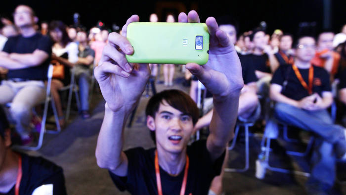 Lower-cost smartphones by Chinese manufacturers such as Xiaomi are gaining popularity