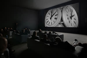 Marclay's 2010 video installation 'The Clock'