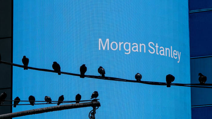 Morgan Stanley delivers at a tough time for trading   Financial Times