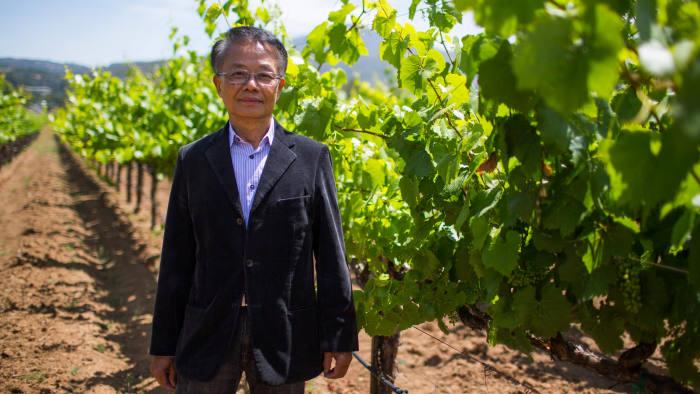 Joe Chuang, owner of Firefly Vineyards