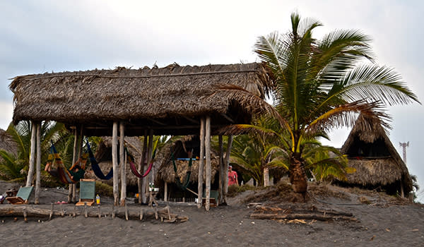 The Surf House in El Paredon