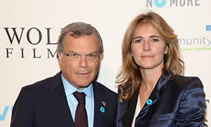 Sir Martin Sorrell (L) and Cristiana Falcone Sorrell attend the Joyful Heart Foundation Presents: The Joyful Revolution Gala 10th Anniversary Celebration at Cipriani, 42nd Street on May 29, 2014 in New York City