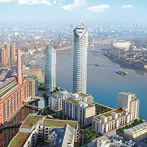 CGI of Chelsea Waterfront scheme