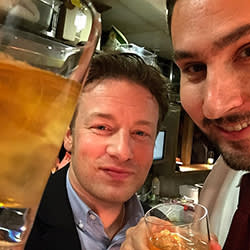Jamie Oliver and Kevin Systrom