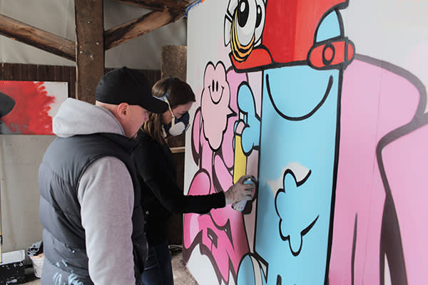 FT Masterclass: graffiti with Cheo | Financial Times