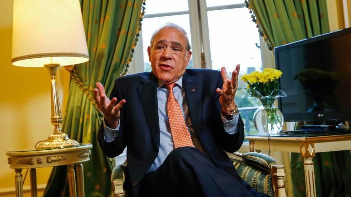 Angel Gurría, secretary-general of the Paris-based OECD
