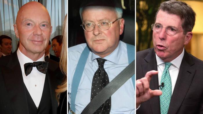 John Varley, Roger Jenkins and Bob Diamond
