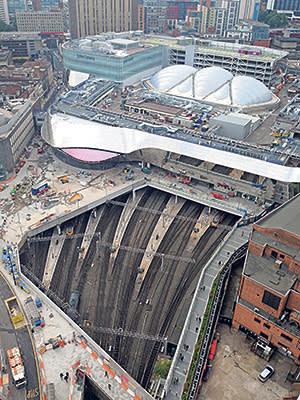 Birmingham's revamped New Street station