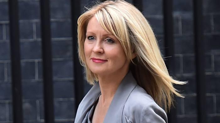 Brexiter: Esther McVey won in Tatton