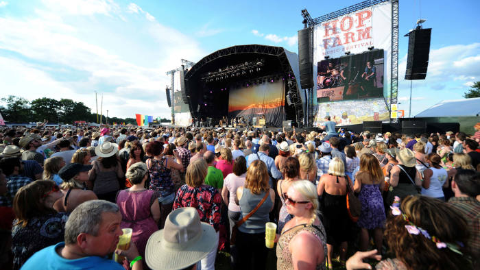 Music stops for struggling festivals | Financial Times