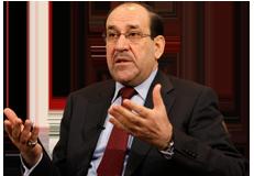 Iraq's Shiite Prime Minister Nouri al-Maliki
