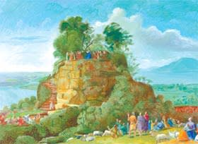 David Hockney's 'The Sermon on the Mount II (after Claude)'