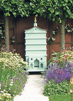 A Fortnum & Mason hive at Chelsea Flower Show in 2007
