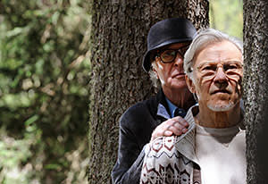 Michael Caine (left) and Harvey Keitel in Paolo Sorrentino's 'Youth'