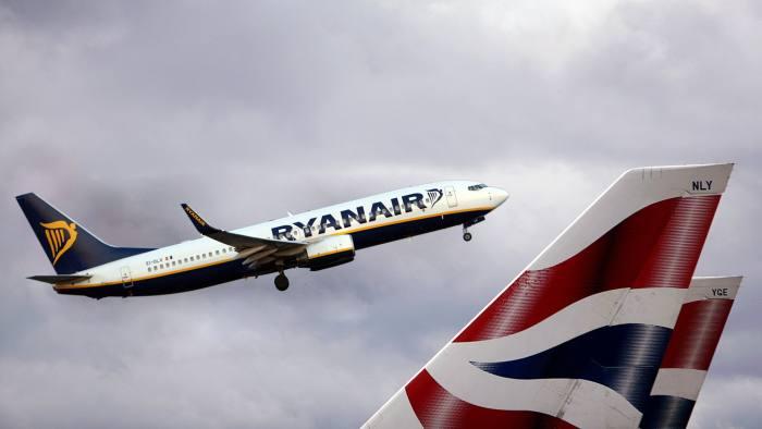 British Airways and Ryanair