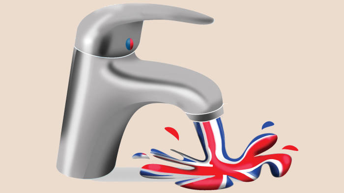 Illustration by Luis Grañena of mixer tap