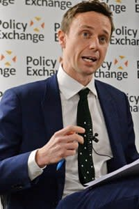 Professor John Bew (left) and Alison McGovern MP at the launch of a new bipartisan report titled The Cost of Doing Nothing, co-authored by the late Jo Cox MP, at the Policy Exchange in Westminster, London.