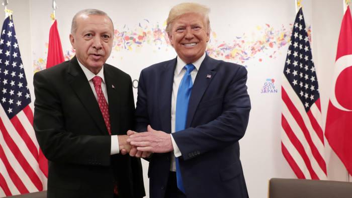 Resultado de imagen de trump erdogan