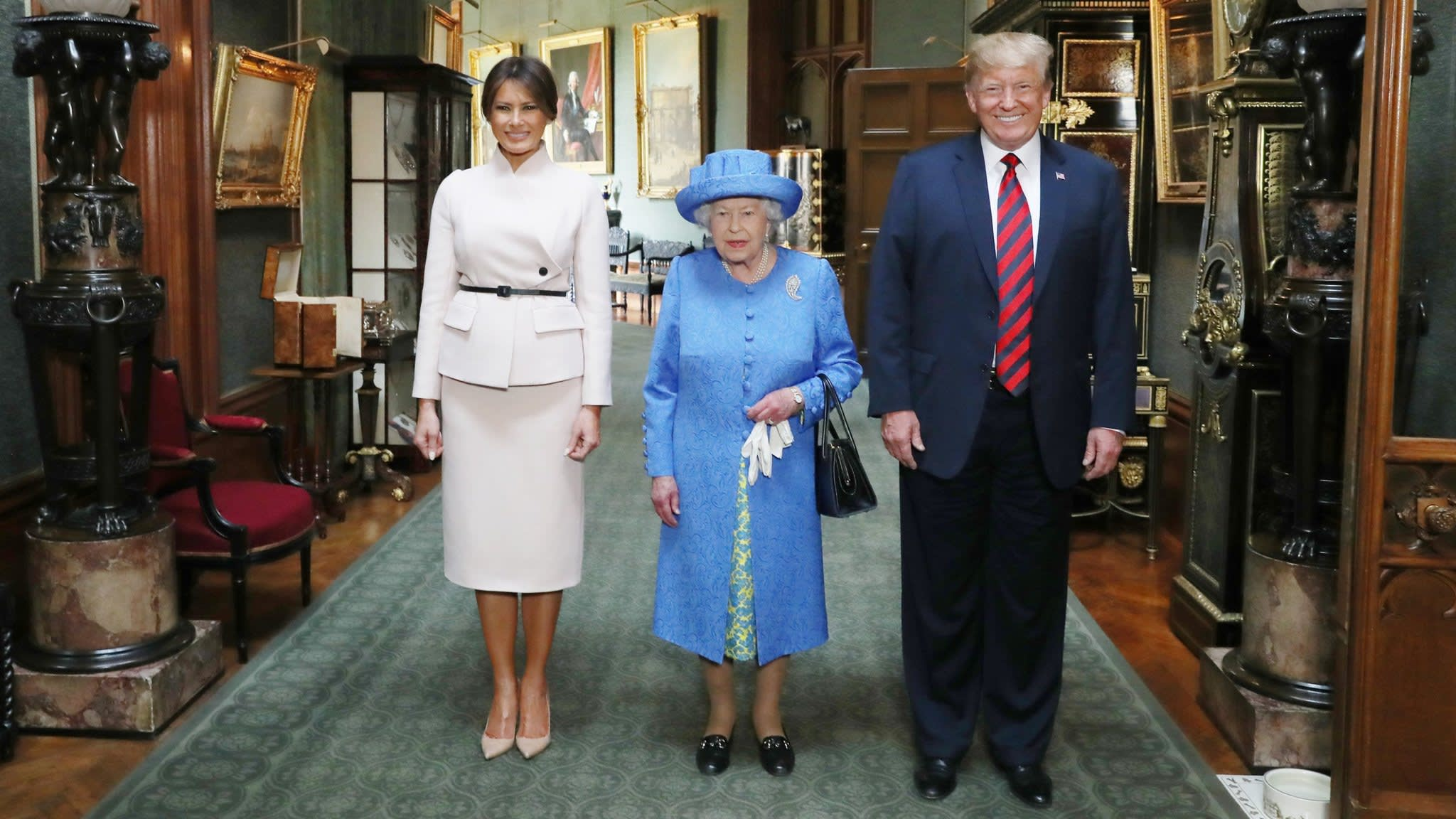 Donald Trump to pay first state visit to Britain in June | Financial Times