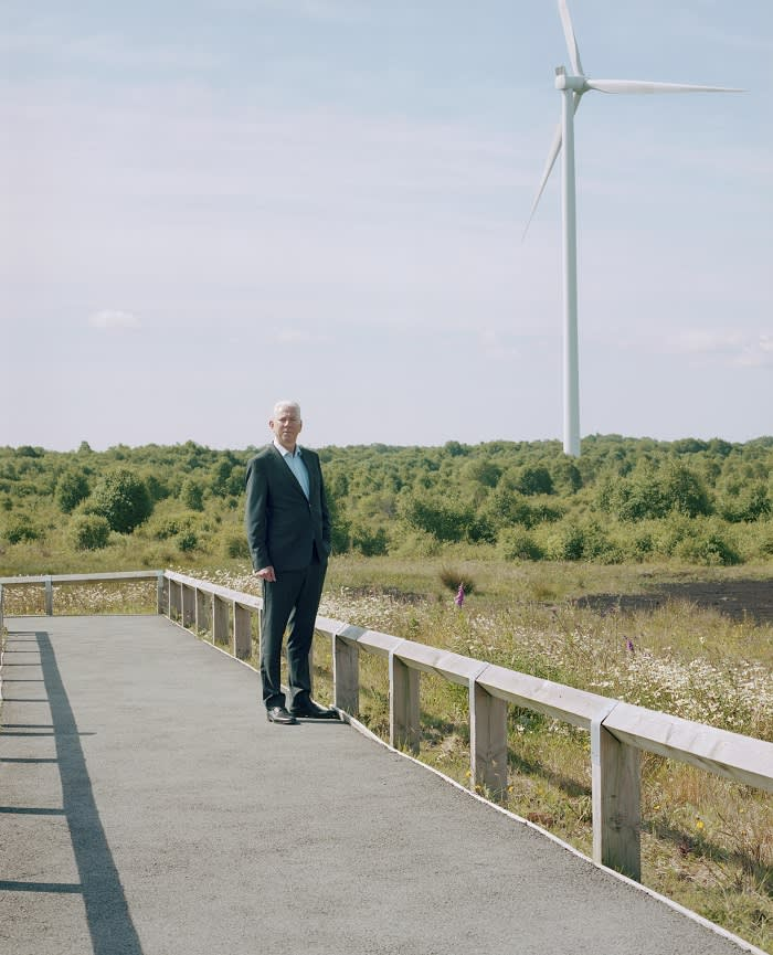 Tom Donnellan, managing director of Bord na Móna, which built Ireland's first commercial wind farm in 1992 and plans to open another 13. 'We see an opportunity in renewables,' he says. 'We have 200,000 acres of land, a lot of it in reasonably remote areas. We have a capability to deliver large-scale projects'