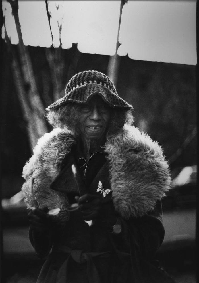 Ming Smith Aunt Ester (From the August Wilson Series), Pittsburgh, PA, 1991 Edition of 2 archival silver gelatin print 20 x 16 in. Courtesy of the artist and Jenkins Johnson Gallery