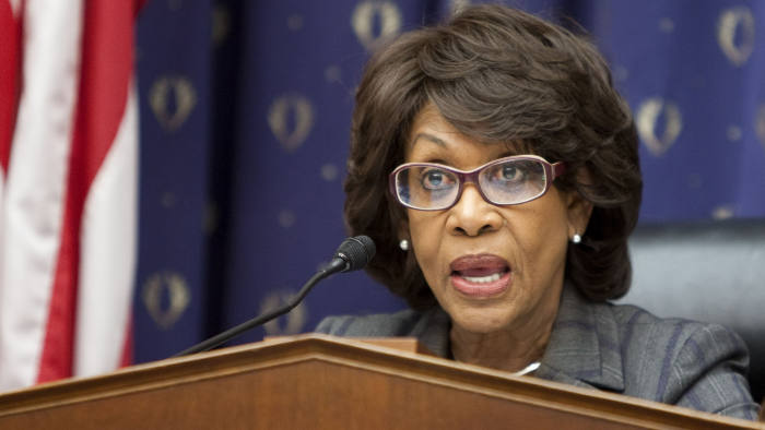 Representative Maxine Waters, a Democrat from California and chairman of the House Housing and Community Opportunity Subcommittee, speaks during a hearing about mortgage and foreclosure servicing in Washington, D.C., U.S., Thursday, Nov. 18, 2010. Photographer: Joshua Roberts/Bloomberg