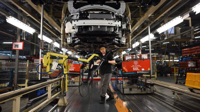Nissan's car plant in Sunderland is the largest in the UK